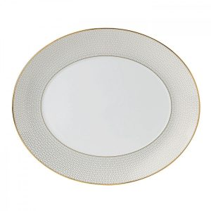 Arris Oval Serving Platter